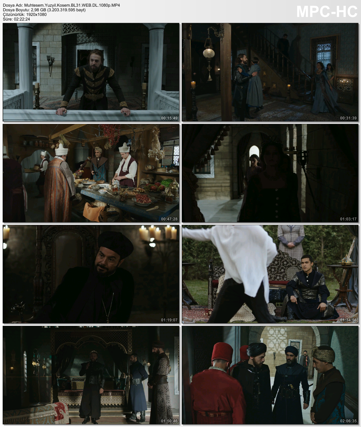 Muhteşem Yüzyıl - Kösem 42.Bölüm (HD - x264 - 1080p) Tüm Bölümler - VKRG