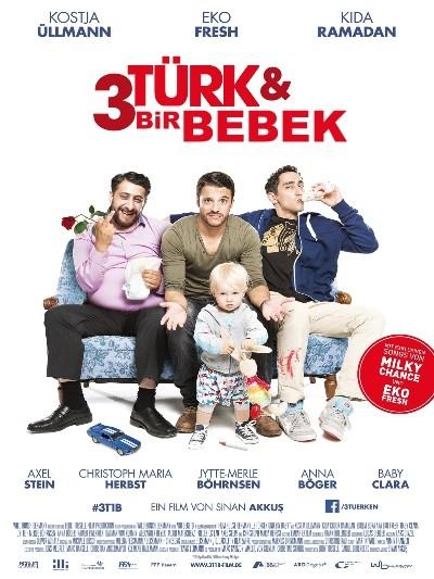 3 Türk ve Bir Bebek 2015 Türkçe Dublaj Film İndir