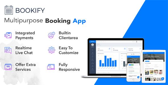 Bookify v1.3 - Çok Amaçlı Rezervasyon Scripti
