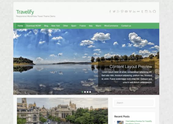 Travelify Teması indir