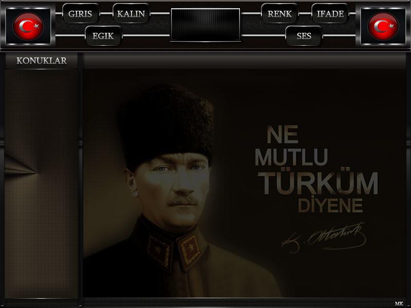 Ne mutlu Türküm diyene/ Flatcast,Tema/ Mustafa Kemal