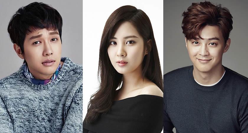 "Ji Hyun-Woo ve Kim Ji-Hoon ""Bad Thief, Good Thief""in Kadrosunda"
