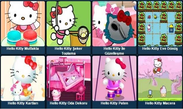 Hello Kitty Oyunları