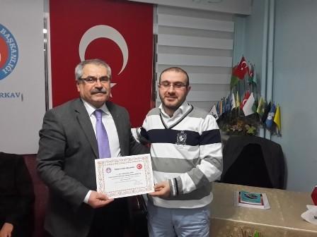 Çankırı TÜRKAV Hacı Murad-ı Veliyi Andı.
