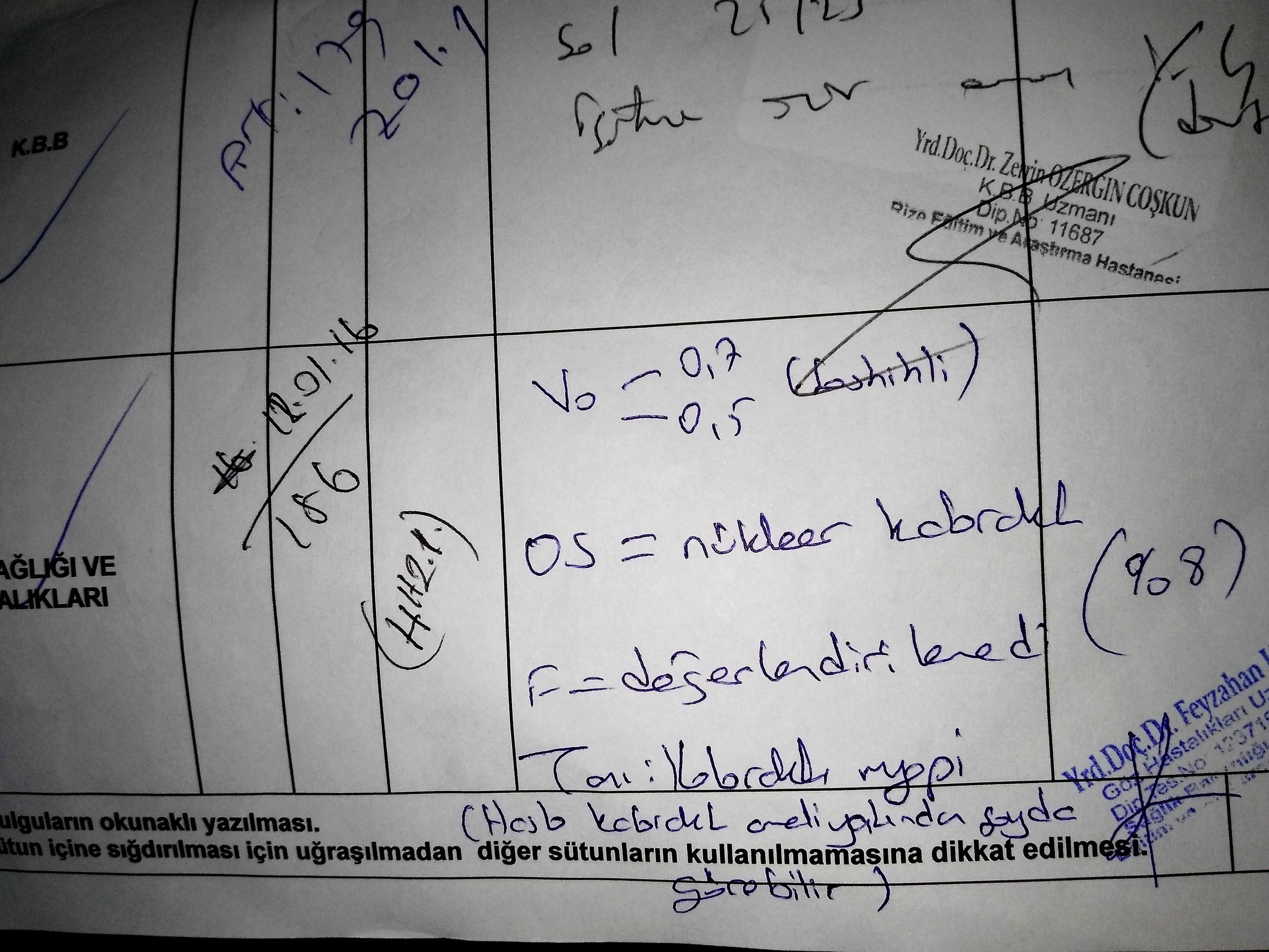 Nrpal5 - Babamın rahatsızlıklarından dolayı ÖTV indirimi için yeterli oranda rapor..?