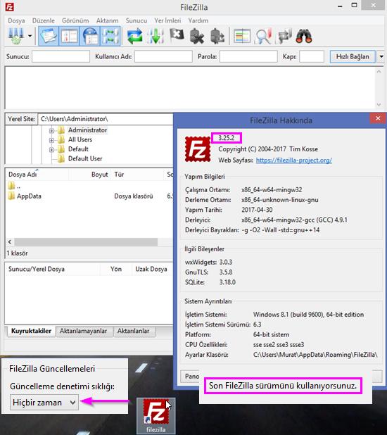 FileZilla 3.25.2 Stable (x86x64)
