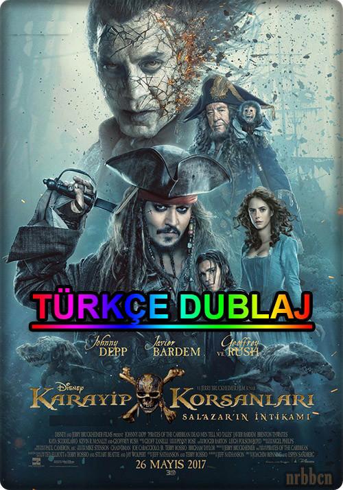 Karayip Korsanları 5: Salazar'ın İntikamı 2017 HD-TS (Türkçe Dublaj)