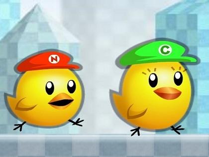 Civciv Mario Oyunu