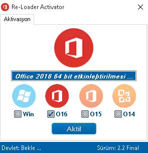 Office 2016 Katılımsız Kurulum ve Lisanslama