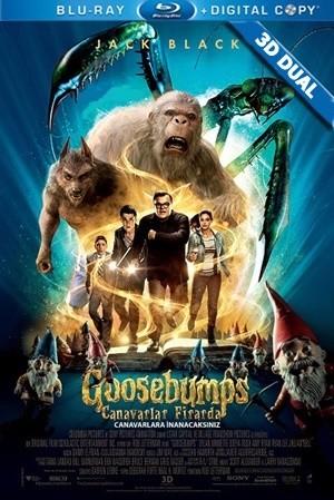 Canavarlar Firarda 3D - Goosebumps 3D | 2015 | 3D BluRay Half-SBS 1080p | DuaL TR-EN - Tek Link