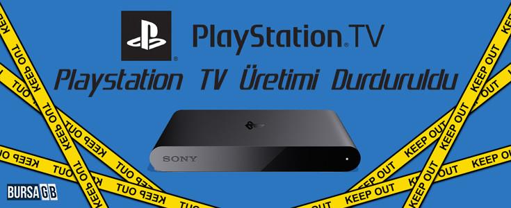Playstation TV Üretimi Durduruldu !