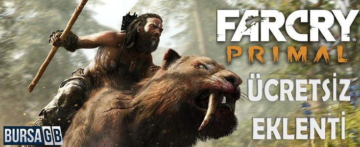 Far Cry Primal 'a Ücretsiz Eklenti
