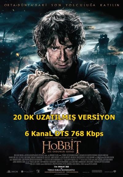 Hobbit: Beş Ordunun Savaşı 2014 EXTENDED BRRip XviD Türkçe Dublaj – Tek Link