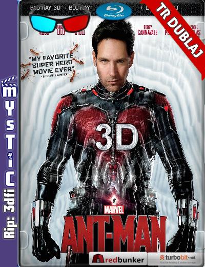 Karınca Adam (2015) ( BluRay m1080p 3d) Türkçe Dublajlı mkv indir