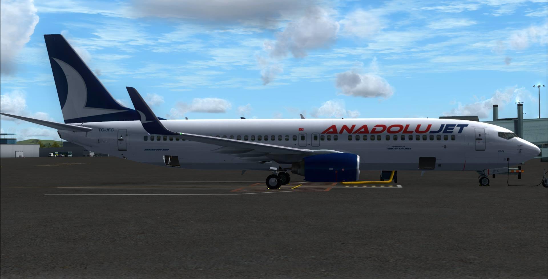 PMDG 737-800WL ANADOLUJET BOYANDI! P3D/FSX - Engineers