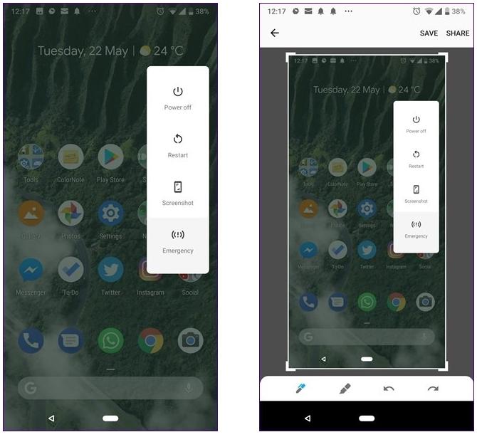 android p ekran görüntüsü