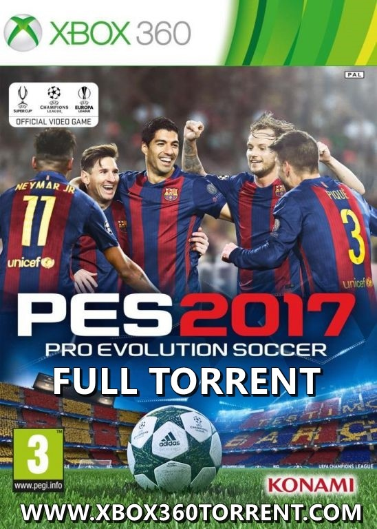 PES 2017 Xbox 360 TORRENT İndir [Türkçe-ÇIKTI-FULL-ISO-PAL-COMPLEX]