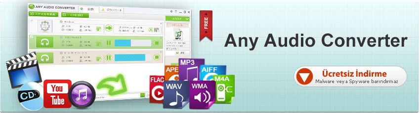 Any Audio Converter Full Türkçe+Portable İndir