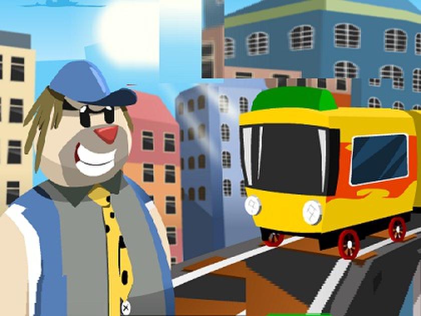 Mini Tren Sürücüsü Oyunu
