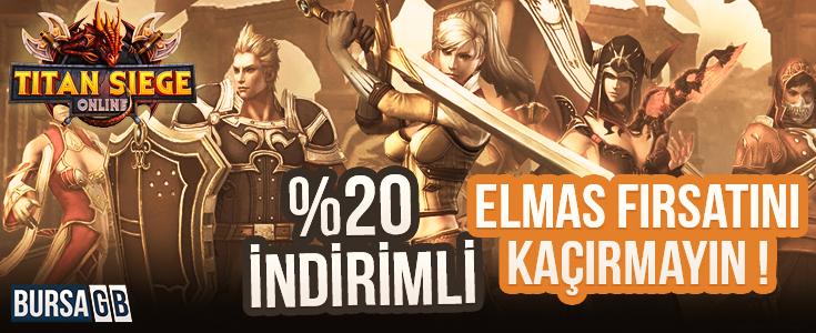 %20 İndirimli Titan Siege Online Elmas Fırsatı Başladı !
