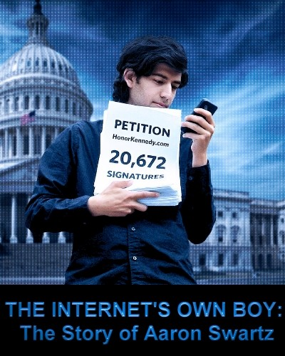 The Internet's Own Boy: The Story of Aaron Swartz (2014) Türkçe dublaj belgesel indir