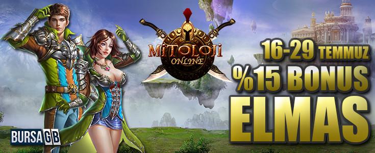 Mitoloji Online'da %15 Dev Bonus Elmas Kampanyasi!
