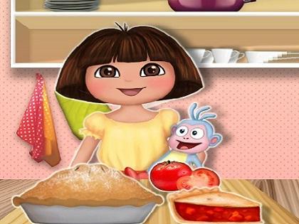Dora Domates Pişirme Oyunu