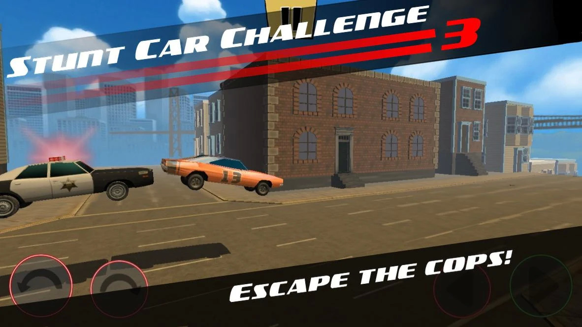 Stunt Car Challenge 3 Android Oyun