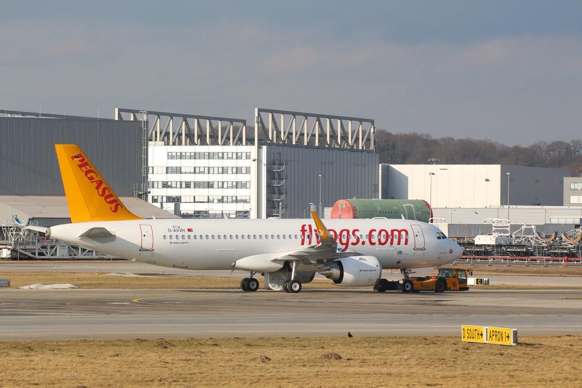 Goklerdeyiz Havacilik Sitesi Pegasus Un Yeni Ucagi Hazirlaniyor