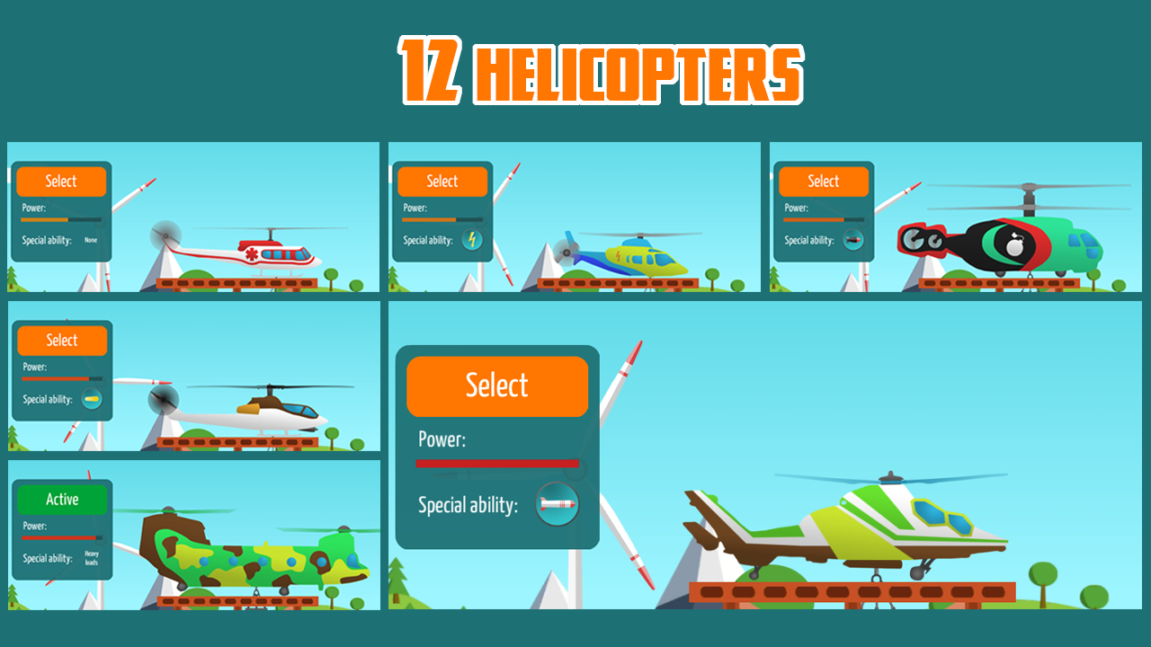 Go Helicopter (Helicopters) Apk İndir