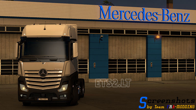 SCS Software's blog: 1 18 Open Beta featuring Mercedes-Benz New