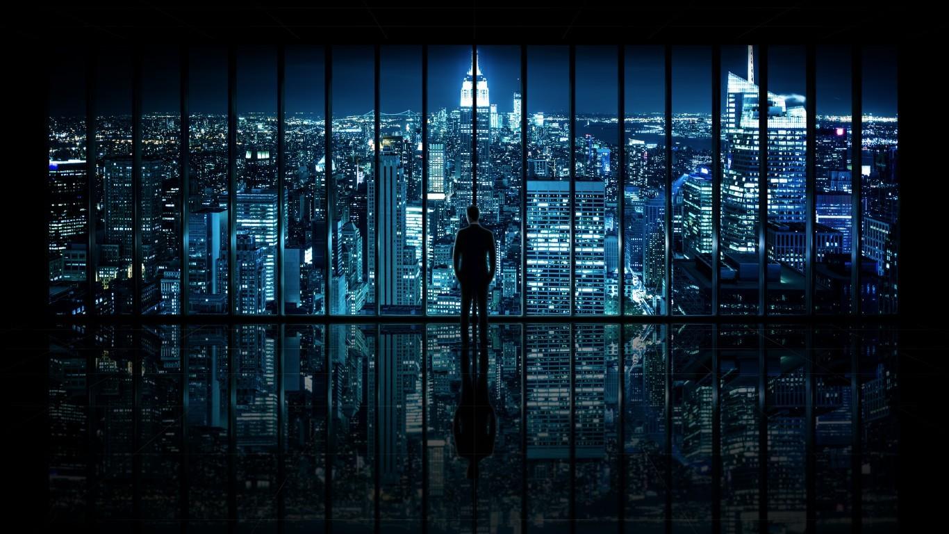City Night Wallpaper #wallpaper