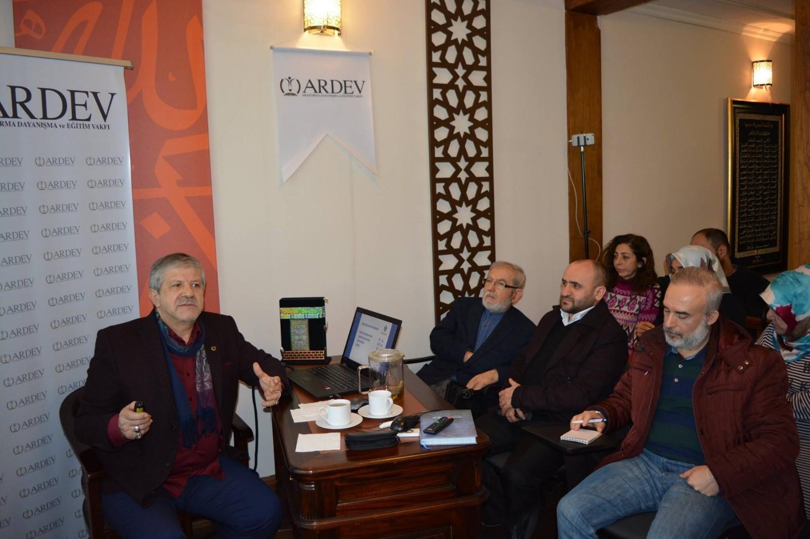 Prof. Dr. Ahmet MARANKİ Hocamızla