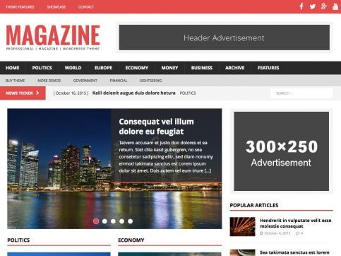 MH NewsMagazine - WP Magazin Teması
