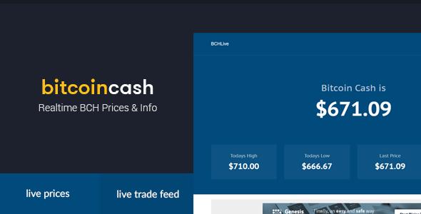BCHLive - Bitcoin Döviz Fiyatları Scripti