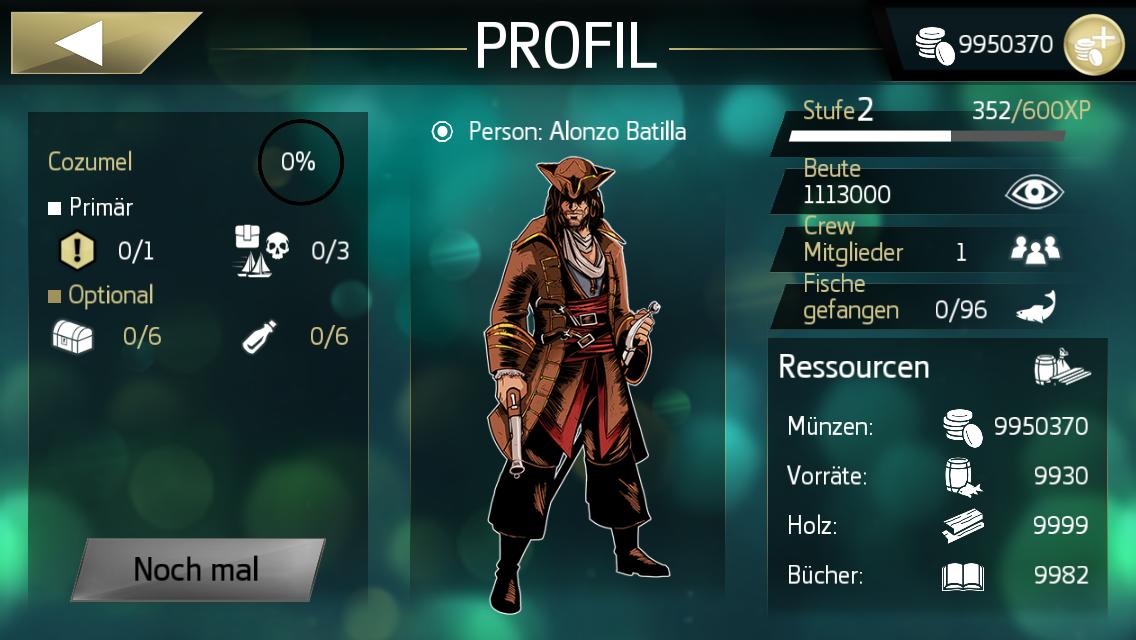 Assassin's Creed Pirates İphone Full Altın Hilesi - İos Oyun