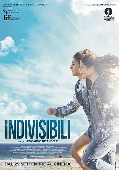 Bölünmezler - Indivisibili 2016 (Türkçe Dublaj) DVDRip x264