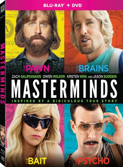Aptallar Çetesi - Masterminds - 2016 - 1080p BluRay - DUAL (TR-EN)