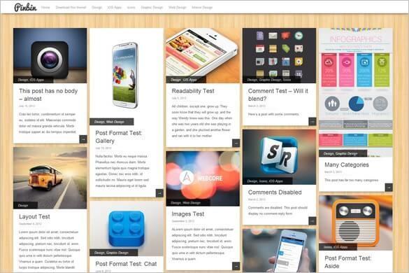Wordress Pinbin Kişisel Blog Teması indir
