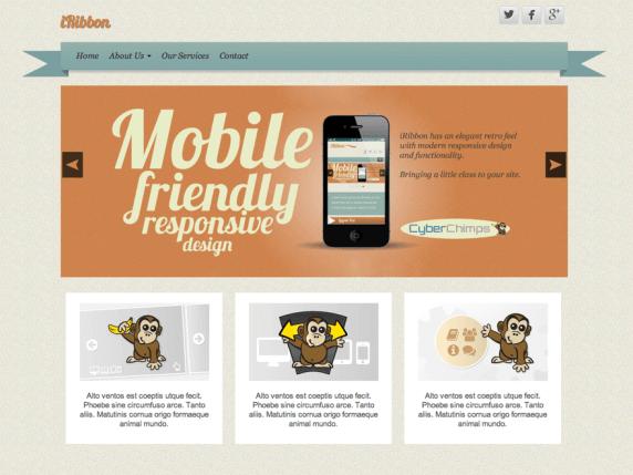 Iribbon Wordpress Teması