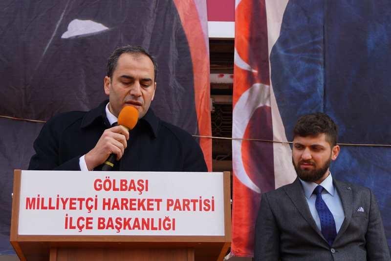 MHP Gölbaşı Seçim İrtibat Bürosu Açıldı