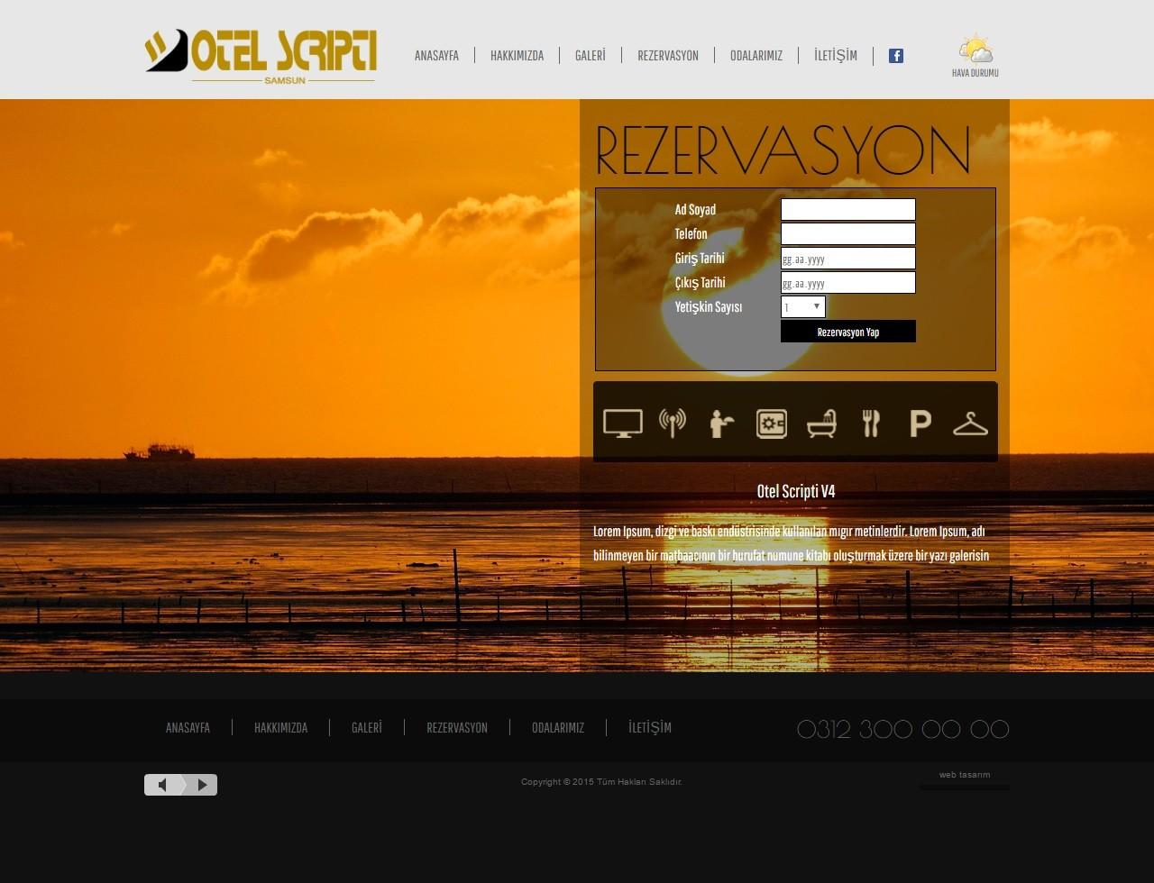 Ücretsiz PHP Hotel Scripti