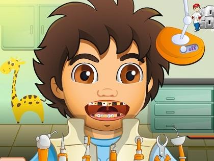 Diego Diş Tedavisi Oyunu