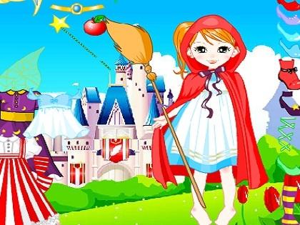 Barbie Kırmızı Başlıklı Kız Oyunu