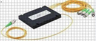 fiber optik bölücü