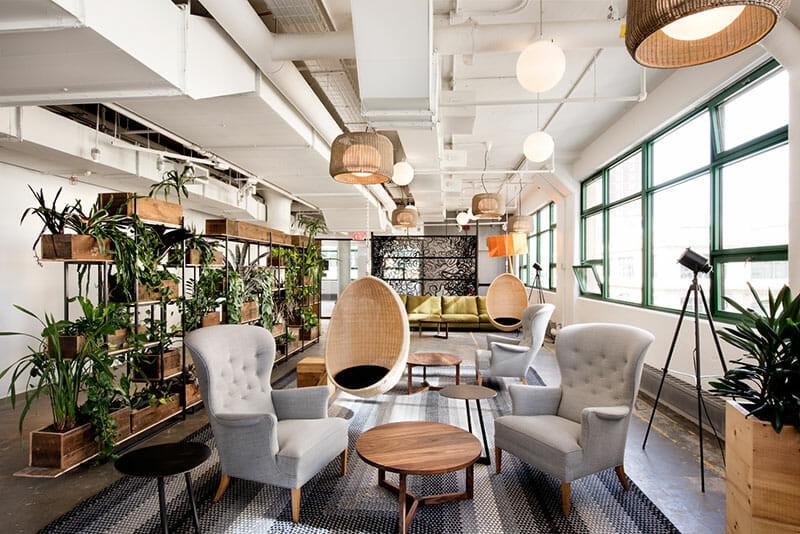 2019 Doğal Ofis Tasarımları