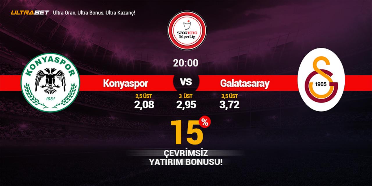 Konyaspor – Galatasaray Canlı Maç İzle