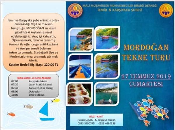 MMMBD Karşıyaka Şubesi İle MMMBD İzmir Şubesinin Ortaklaşa Düzenlediği ;
