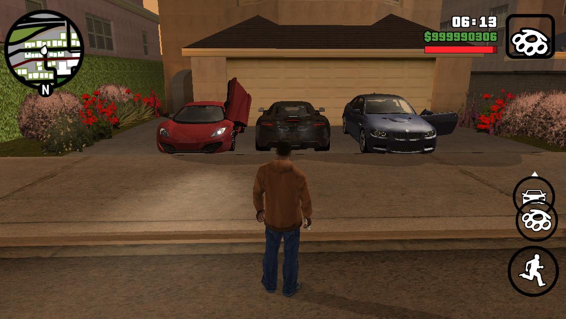 grand theft auto: san andreas gta İos mod lüx araba hilesi | mod
