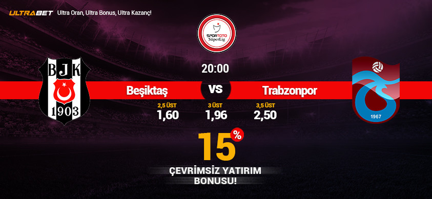 Beşiktaş - Trabzonspor Canlı Maç İzle